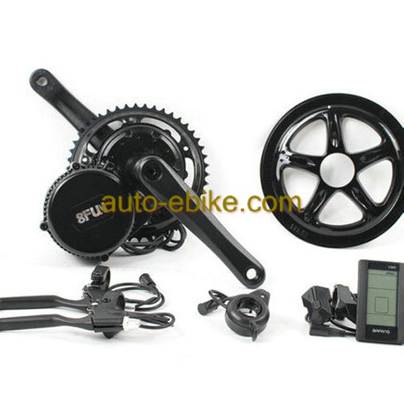Bafang 8Fun Motor,48V 750W BBS02 Latest Controller Crank Motor Eletric Bicycles Trike Ebike Kits With C965 LCD Display