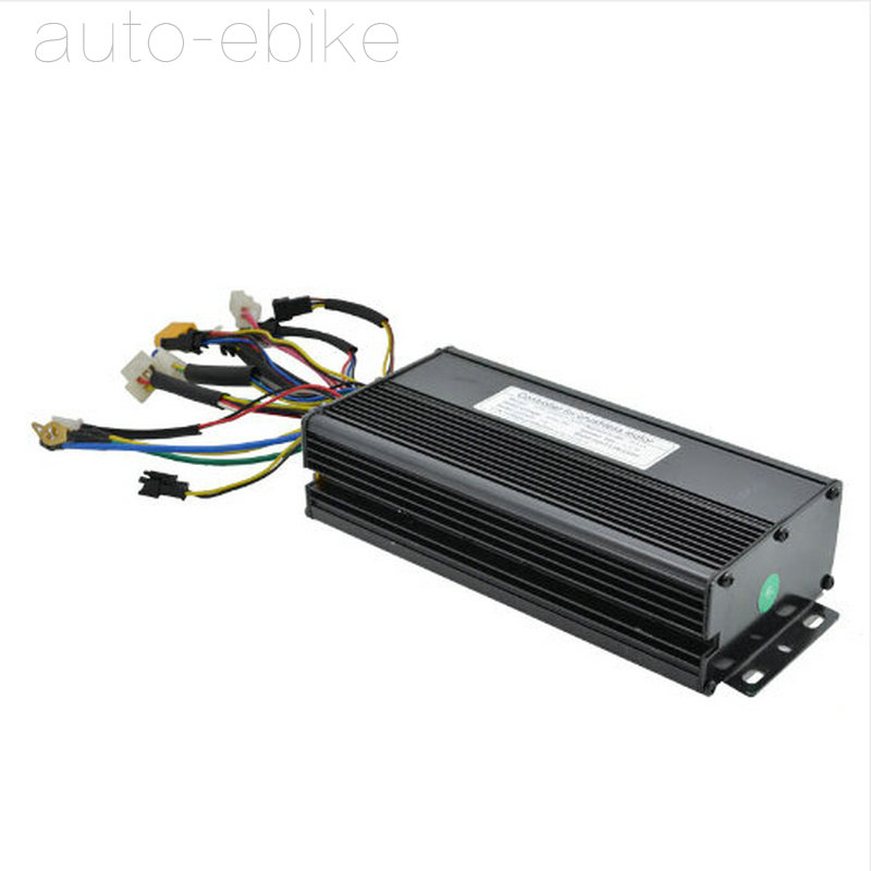 Ebike 48V 750W 1000W Black Brushless DC Sine Wave Controller Electric Bicycle Controlle