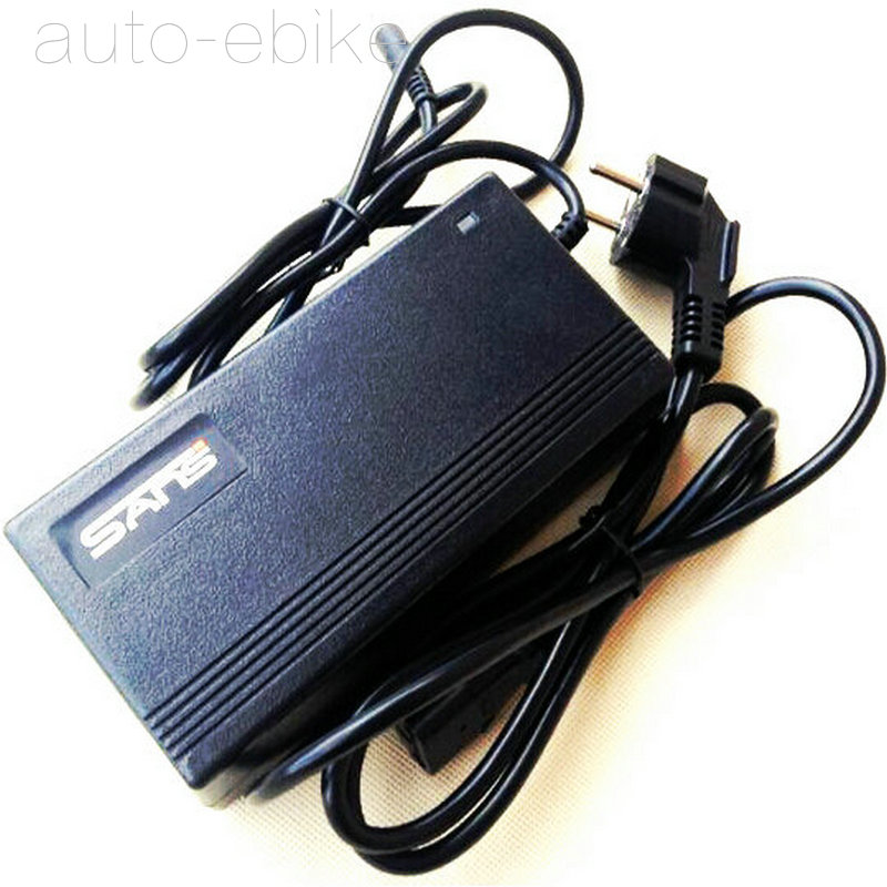 SANS 54.6V 2A Battery Charger DC2.5 head for 48V Lithium Ebike bicycle battery Description